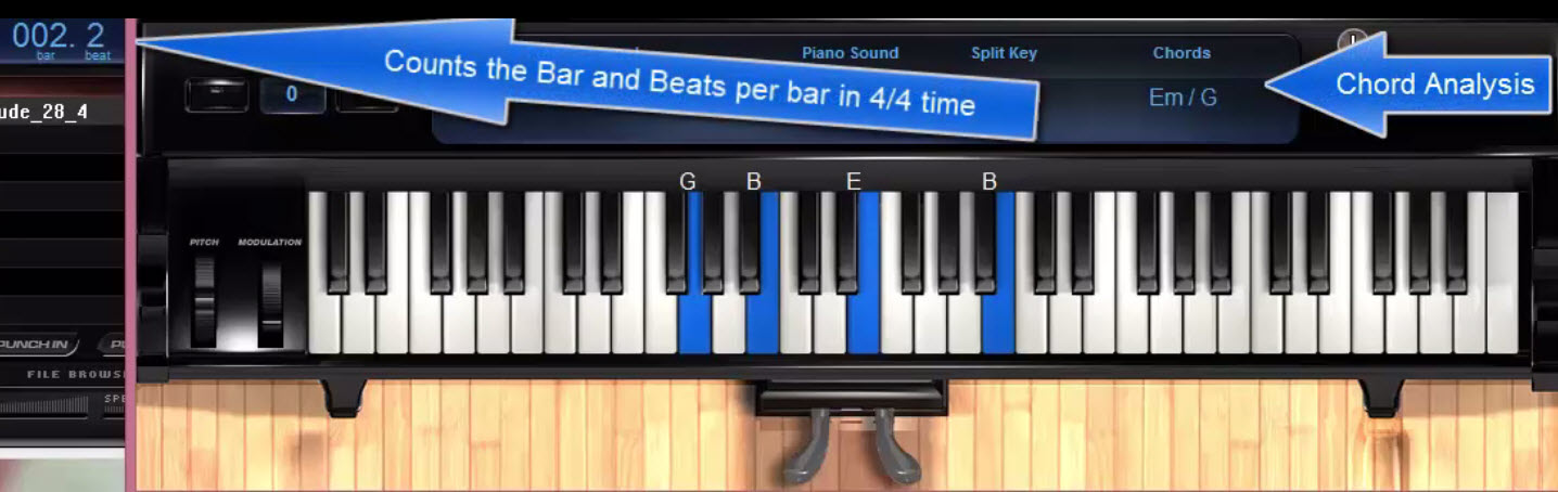 Screenshots Of Customized Teaching Tools To Help You Practice Play